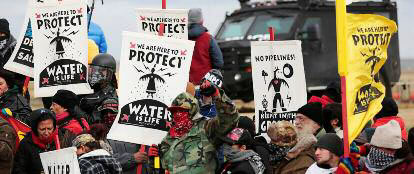 dakota pipeline demo